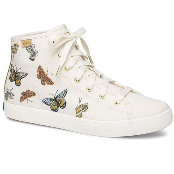 Rifle Paper Co Butterfly Hightop Keds